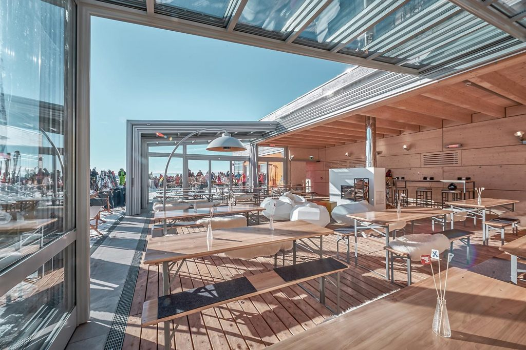 Bergstation W11 von Architektin Silvia FRACARO